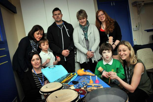 Northwich Guardian: Children continue to enjoy their music therapy sessions thanks to Accident Advice Solicitors