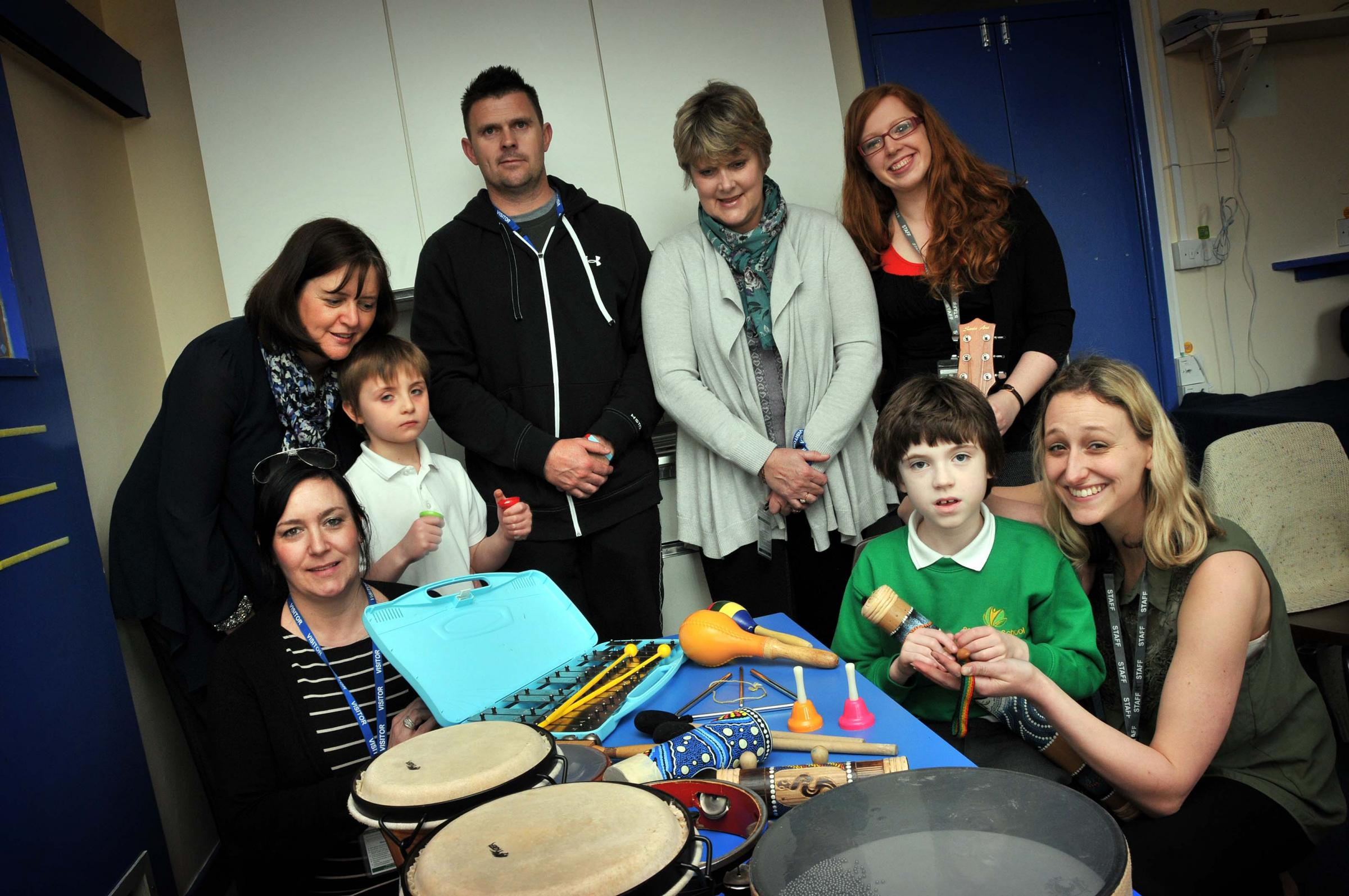 Children continue to enjoy their music therapy sessions thanks to Accident Advice Solicitors