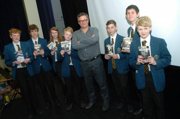 Author brings tales of gore to school