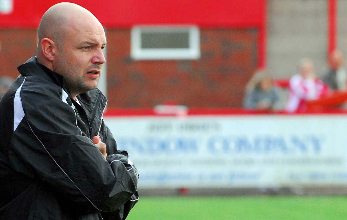 Witton Albion manager Brian Pritchard has promised to make changes to hi