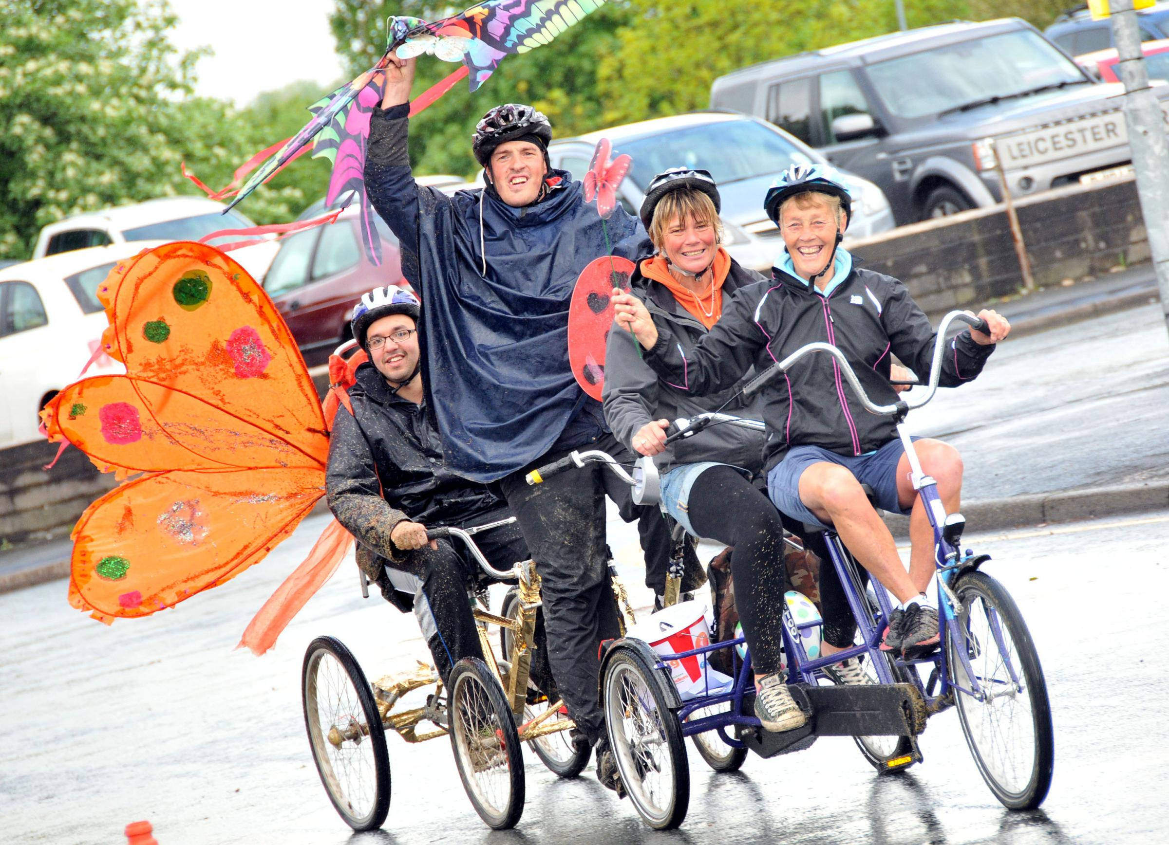 Northwich Guardian: The best dressed cyclists at the festival