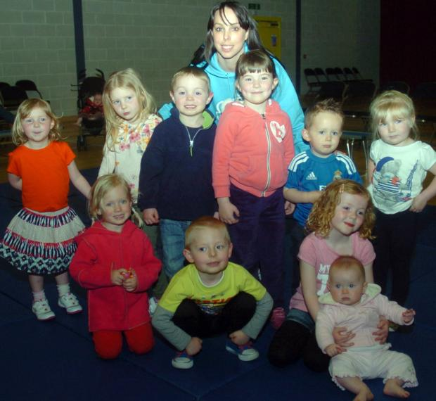 GYMNASTICS: Tweddle's classes for little stars