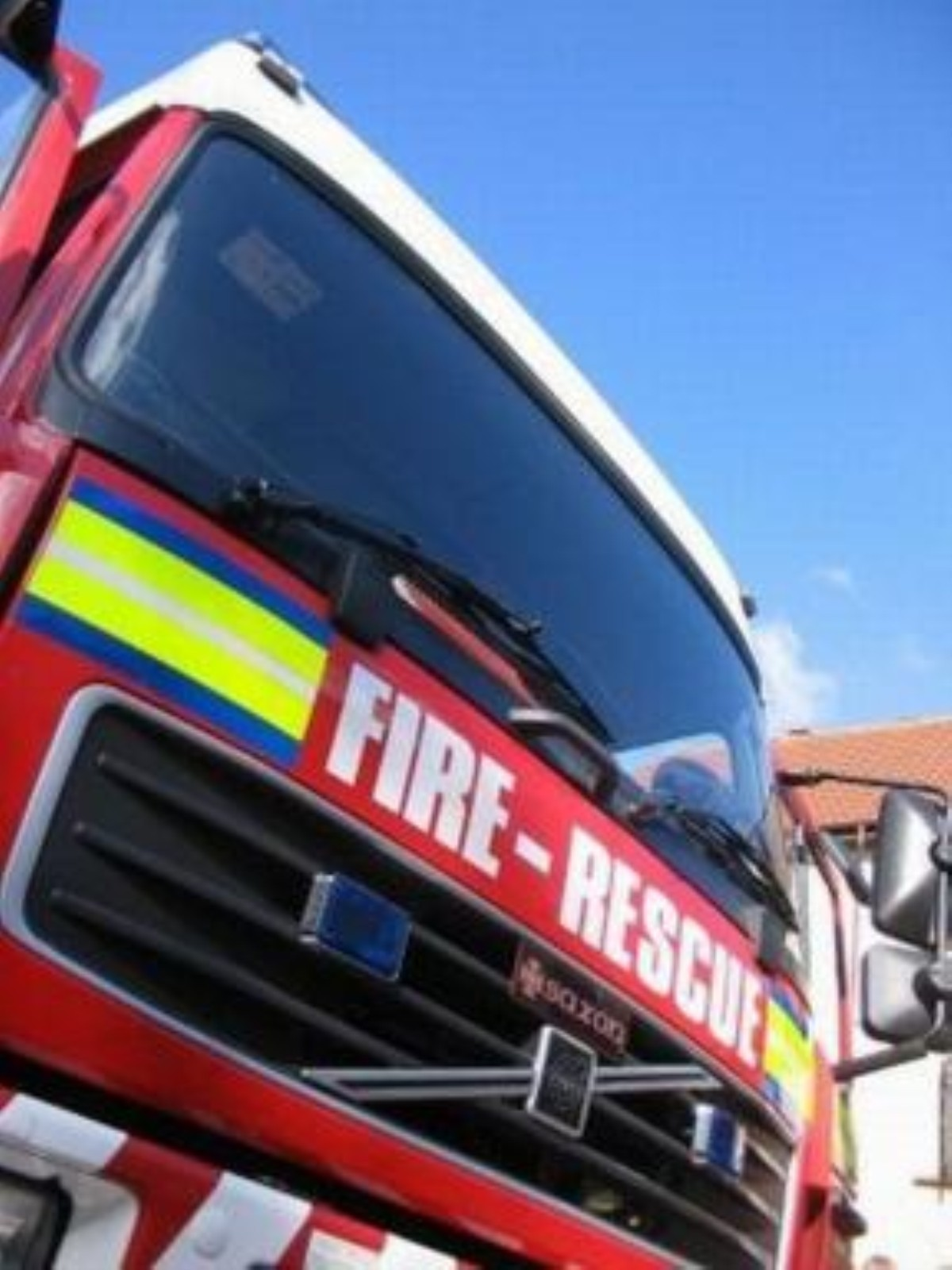 Fire crews were called to Orchard Street in Northwich last night