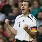 Northwich Guardian: BRAZIL BOUND: Miroslav Klose has been confirmed in Germany's World Cup squad