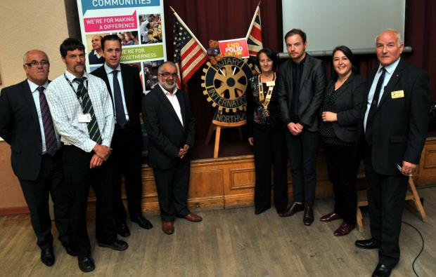 Noel O'Neill, David Brown, Peter Gibbs, Raj Chandarana, Janet Wild, Brendan Gallagher, Charlotte Bowen and Clive Steggel.
