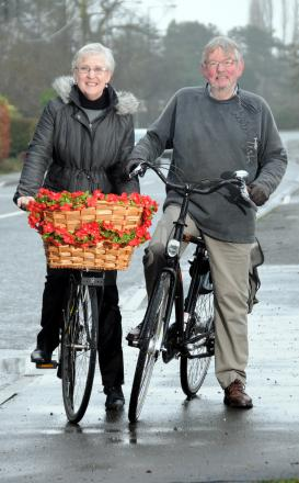 Mike and Sue Hornby are the epitome of everyday cycling. The Weaverham couple are our Pedal Power Ambassadors for this style of bike riding and have supported the campaign since it started in November 2012.
