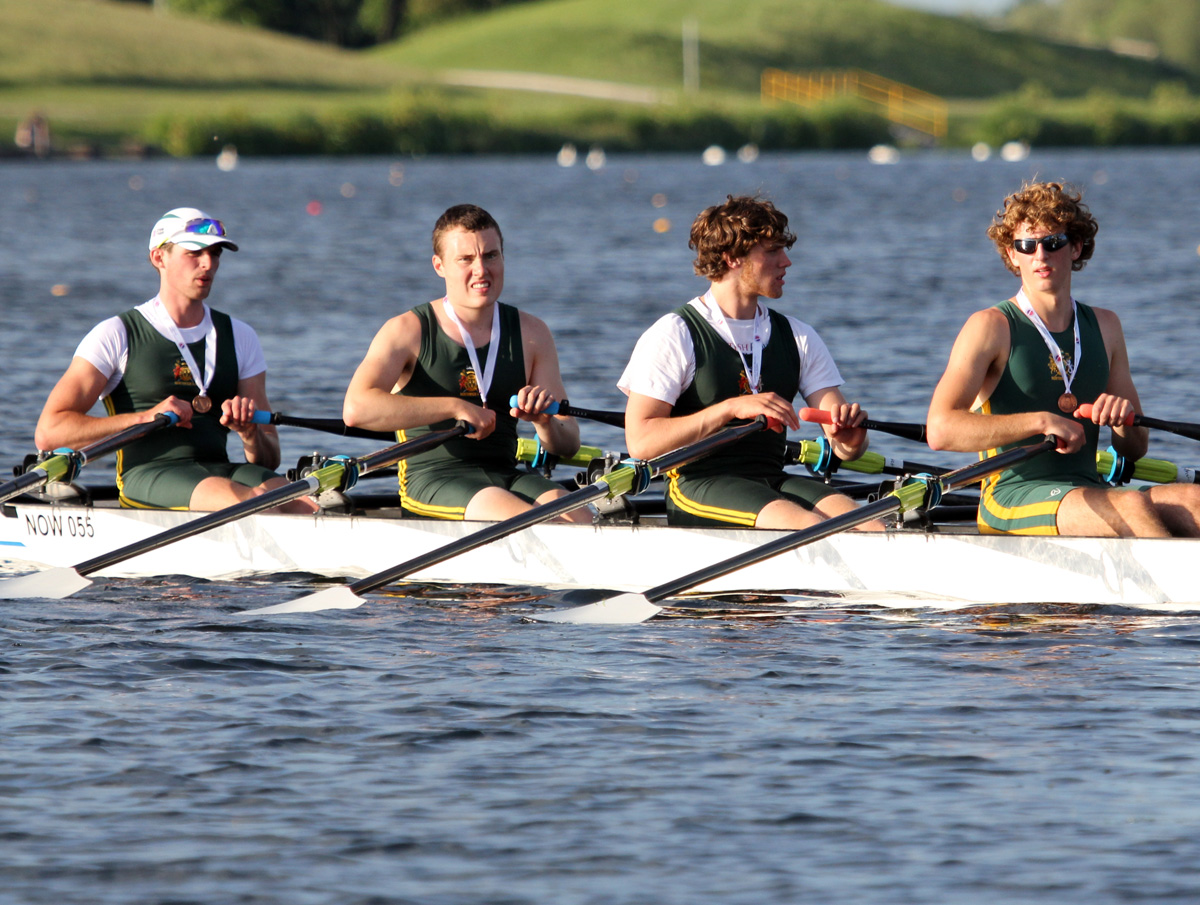 Northwich Rowing Club's junior men's quad finished second in the final at Metropolitan Regatta in London