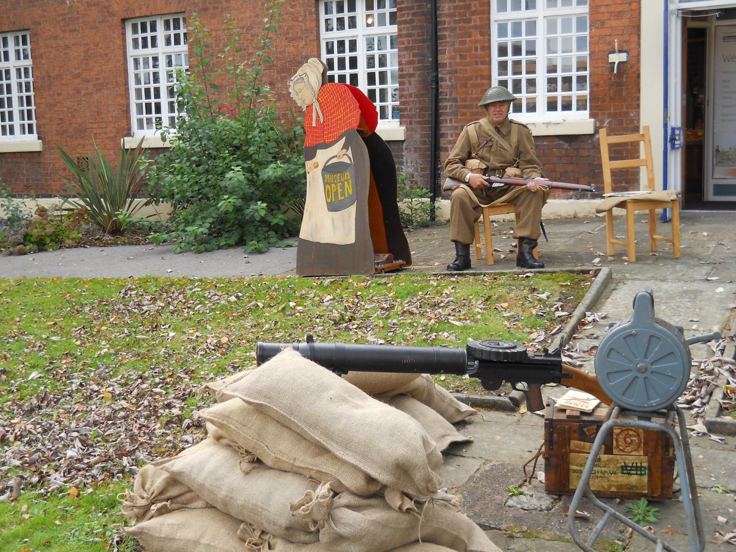 Northwich Guardian: Re-enactors from the Cheshire Home Guard will how visitors what life was like in Northwich in the Second World War.