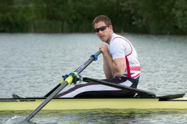 Matthew Langridge has needed time to recover from injury before racing for Great Britain this season. Picture: Peter Spurrier/GB Rowing