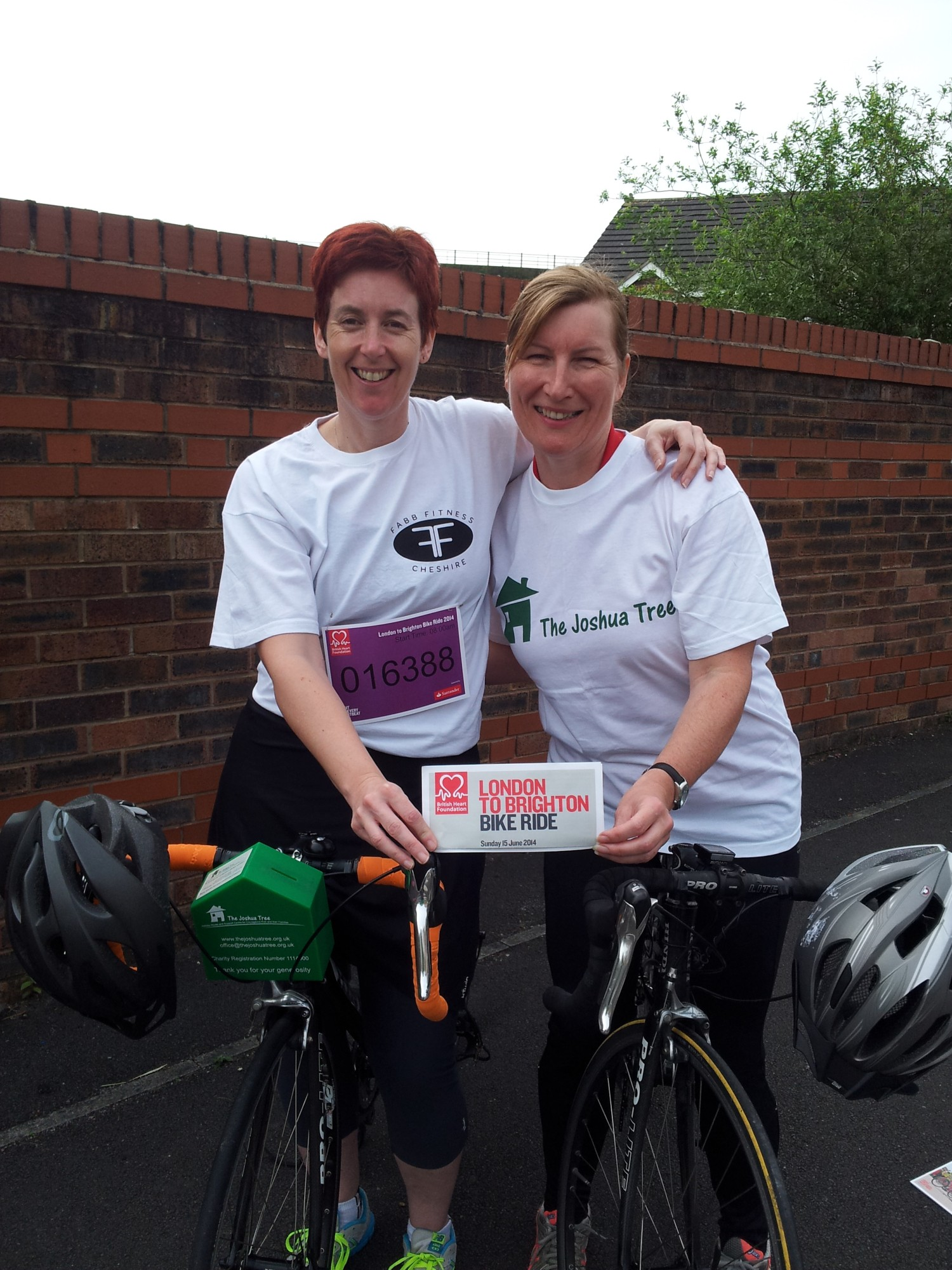 Theresa Bateman and Pam Ford are embarking on a charity bike ride at the start of National Bike Week.