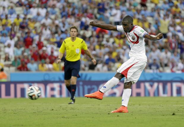 Northwich Guardian: Uruguay shocked by rampant Costa Rica