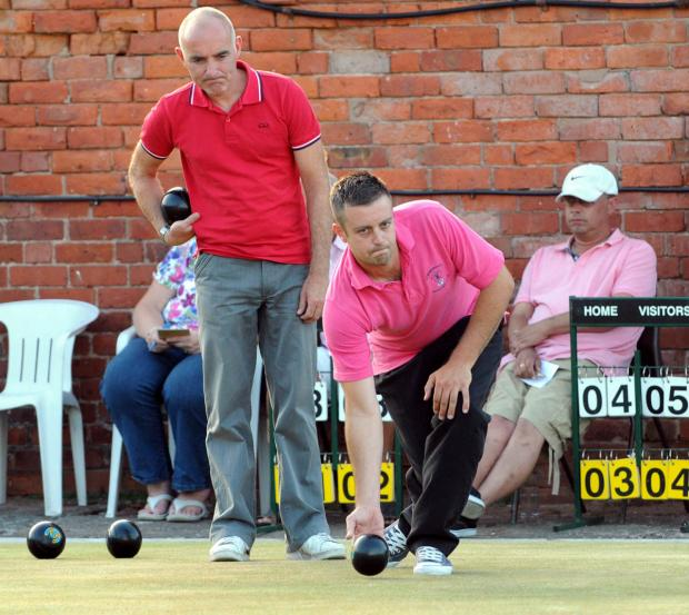 Matt Thurlwell, of Comberbach, reached the Cheshire Senior Merit's last four at Coppenhall on Sunday