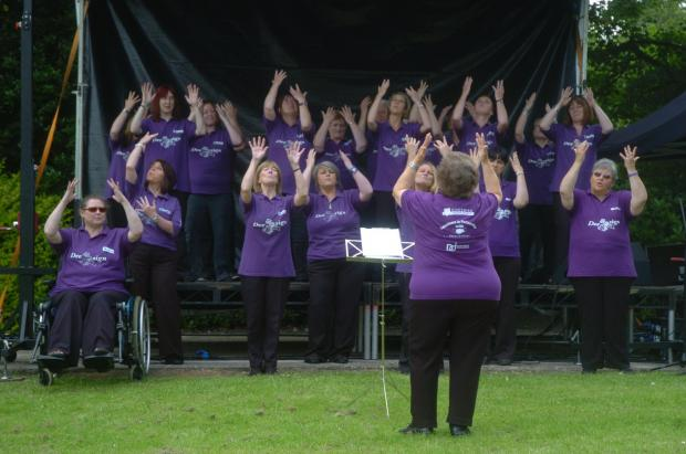 Dee Sign Choir will perform at Northwich Festival