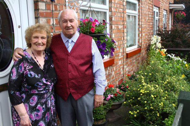 Dennis and Dot Wakefield met at Weaverham Village Hall in 1951