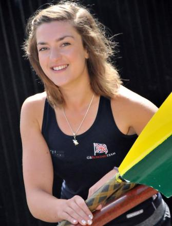 Northwich Rowing Club's Lucy Burgess