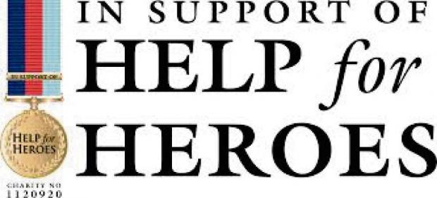 Help for Heroes is being supported by a fun day this Sunday