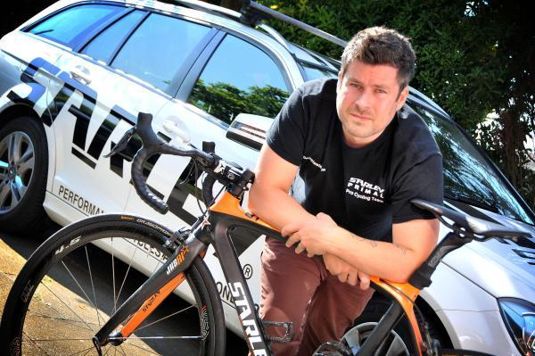 Northwich Guardian: Nick Fountain, from Starley-Primal Pro Cycling.
