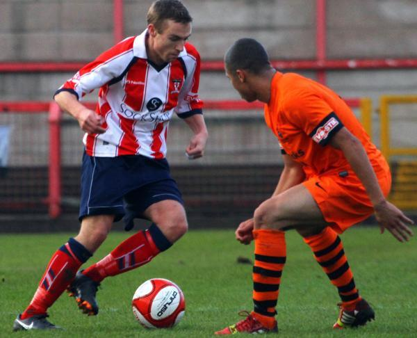 Witton Albion, victors when the teams met last season, host Ilkeston on the forthcoming campaign's opening day. Picture: MATT SAYLE