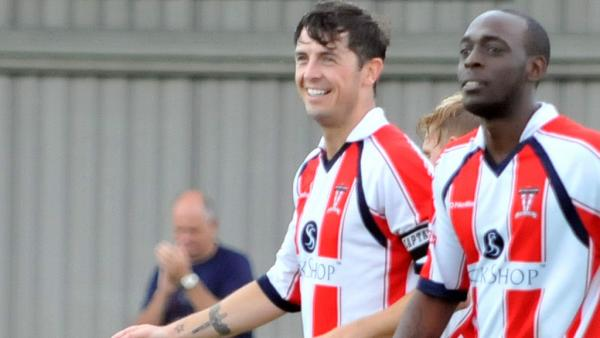 Neil Harvey, right, is Witton Albion's latest new recruit this summer