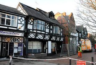 The former Amber Lounge building in Northwich could have a new tenant by the end of the summer