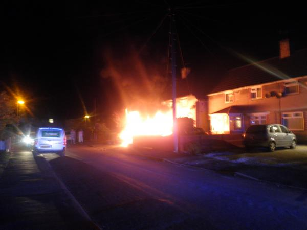 Arson thought to be cause of Rudheath fire