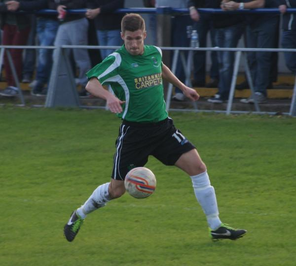 Ryan Stewart was among 1874 Northwich's best performers during an opening day success at AFC Blackpool.