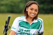 Carla Kompany is taking part in this year's Macmillan Cycletta Cheshire.