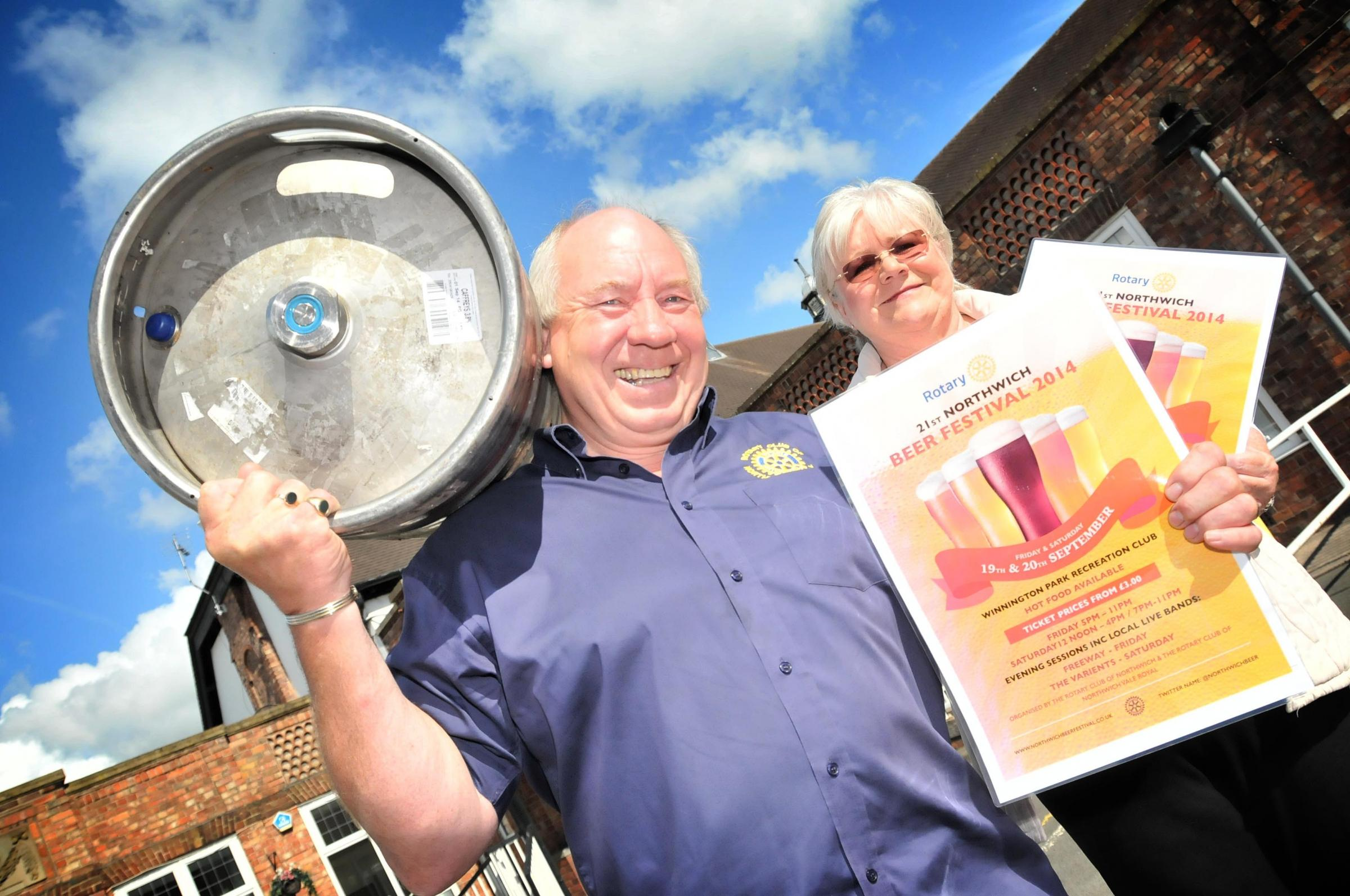 Roll out the barrel for beer festival