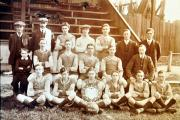 The photograph of Witton Victoria Football Club in 1914.