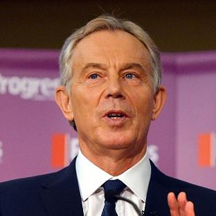 Tony Blair congratulated the Egyptian government on its