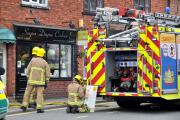 Fire crew called to Davenham to deal with a leaking helium gas cylinder.