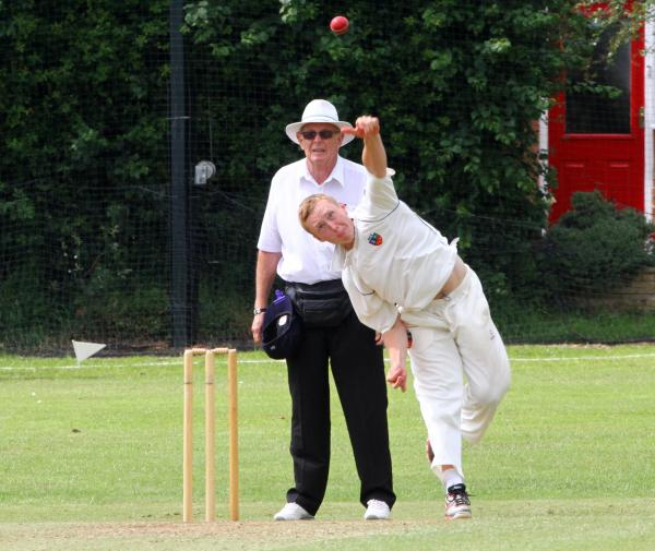 Davenham spinner Daniel Hancock claimed a wicket in Saturday's defeat at Sale. Picture: MATT SAYLE