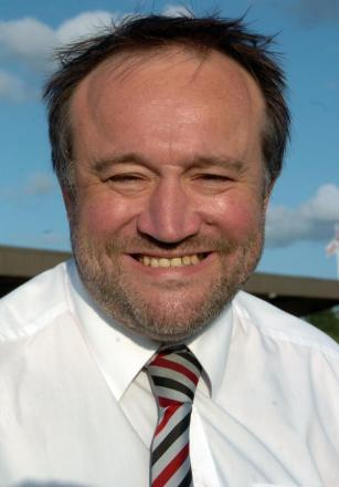 Witton Albion chairman Mark Harris