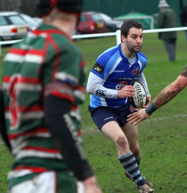 Lee Allmark scored a try on his 100th appearance for Winn