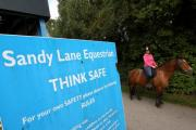 Horse riders and cyclists are urged to 'think safe'