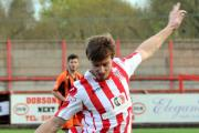 Jamie Rainford scored his first goal for Witton Albion in Tuesday's Doodson Sport Cup success