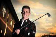 Young golfer Rhys Nevin