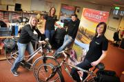 Michelle Roberts, Melanie McAnaw, Adam Jarvis and Emma Glasgow are all passionate about Headwater's holidays.