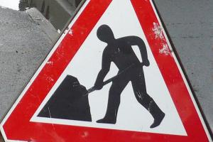 Town centre roadworks start on Monday