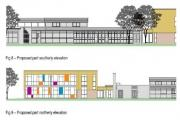 Artist's impressions of the new-look school