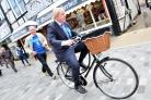 Boris Johnson MP and Graham Evans MP are fans of Pedal Power