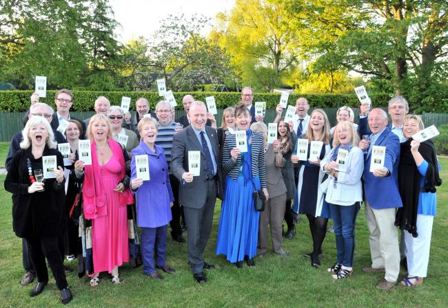 Supporters and well-wishers gather to launch Northwich LitFest 2015