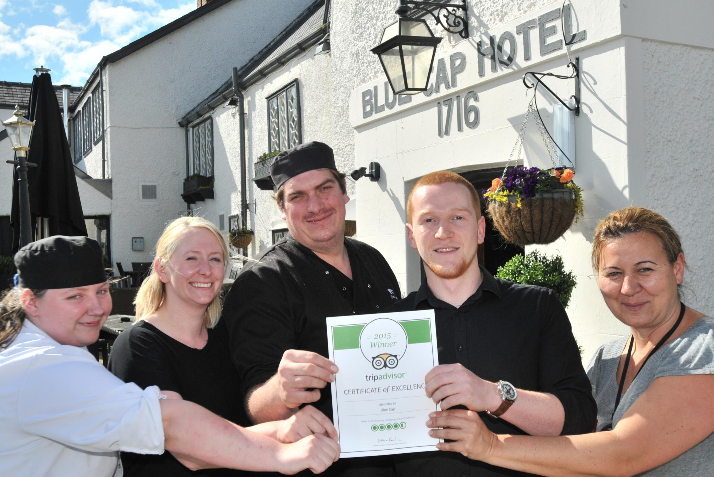 blue cap manager thanks everyone for praise for pub from blue cap manager thanks everyone for praise for pub from northwich guardian