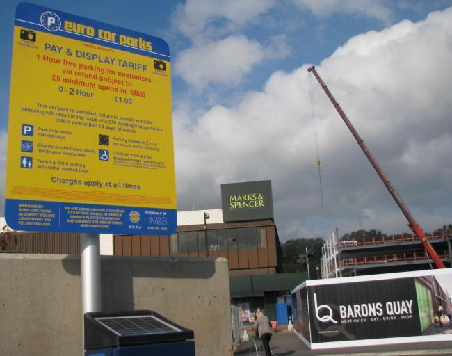 Charges At M S Car Park Follow Customer Complaints Northwich Guardian