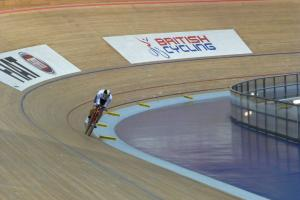 PEDAL POWER: Bronze for Speedy Lee