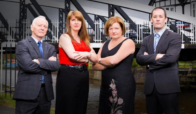 The Salters Den, from left, Gerard Rooney, Claire Morley, Diane Johnson and Chris Smith