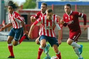 Trafford 1-2 Witton: Andrews double secures victory