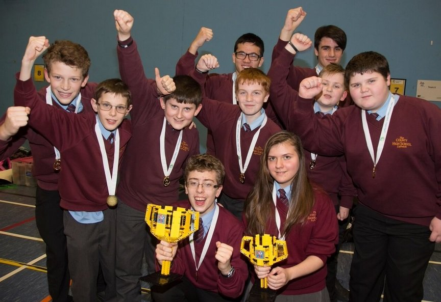 476cdc443c County High School, Leftwich, wins place in national finals of LEGO  challenge | Northwich Guardian