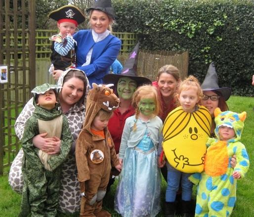 Children and staff celebrate take part in World Book Day