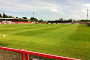 Witton Albion say they were threatened with legal action after terminating a ground-share with Northwich Victoria